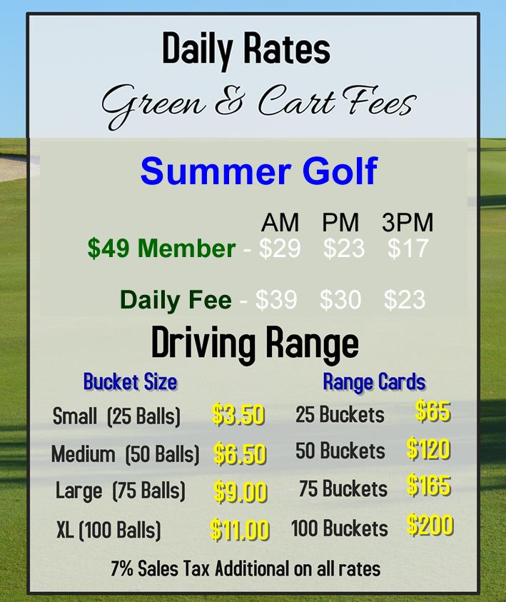 summer 2018 rates