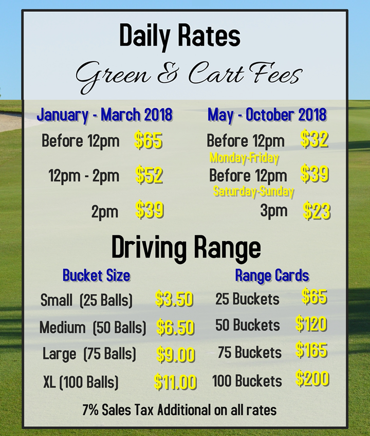 Winter Daily Rates