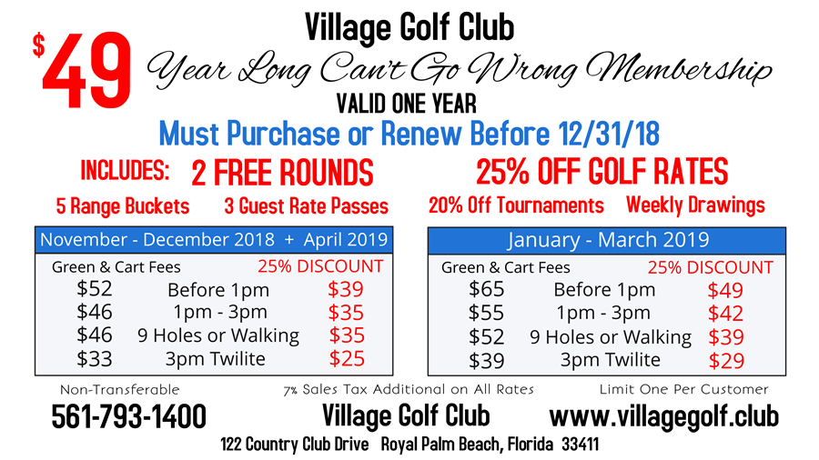 $49-golf-membership-Village-Golf-club